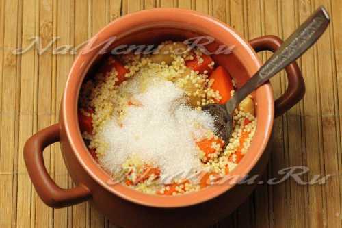 Рецепты пшённой каши с тыквой в горшочках,