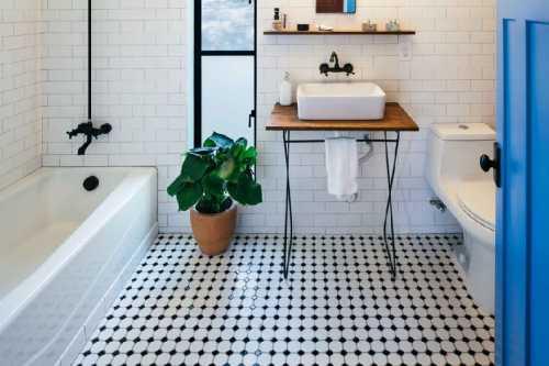 Дизайн плитки в ванной, какую выбрать на стену, пол