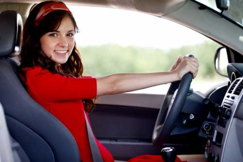 Выбор автомобиля Женщина за рулём
