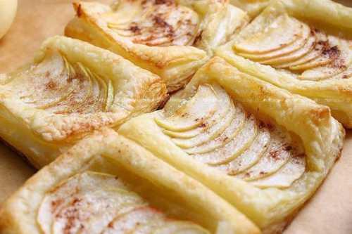 Рецепты слоек с яблоками из слоёного теста,