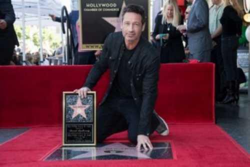 Дэвид Духовны получил звезду на Аллее славы в Голливуде