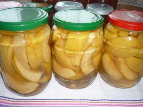 Рецепт маринованных яблок на зиму в банках,