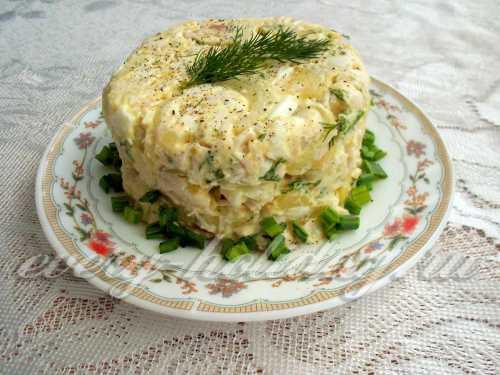Рецепты салат с маринованной курицей, секреты