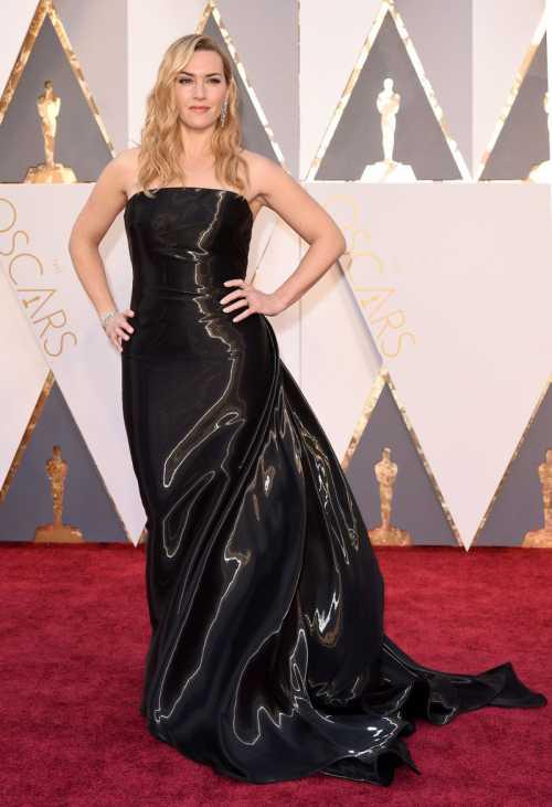 Зачем Кейт Уинслет надела на Оскар мешок для мусора