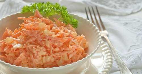 Как готовить правильный салат из моркови с