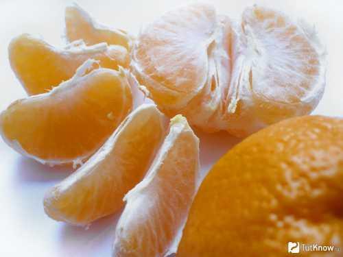Мандарин: состав и калорийность, в чём его польза