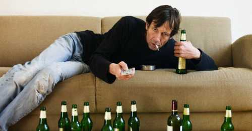 ПАДЕНИЕ пьянство в семье
