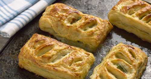 Рецепты слоёных пирожков с сыром, секреты выбора
