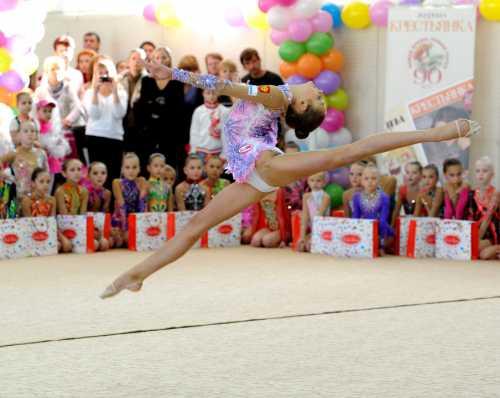 Детская художественная гимнастика