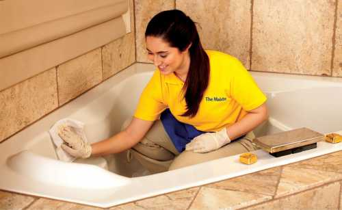 Большая уборка ванной