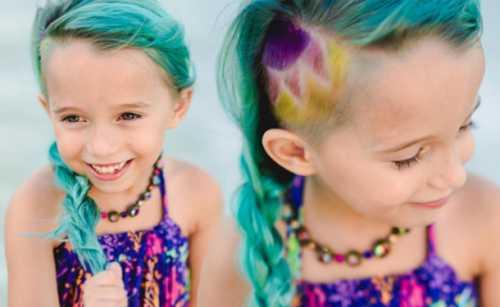 На вкус и цвет: зачем дети звезд красят волосы