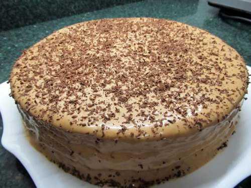 Рецепты тортов из готовых коржей со сгущёнкой: