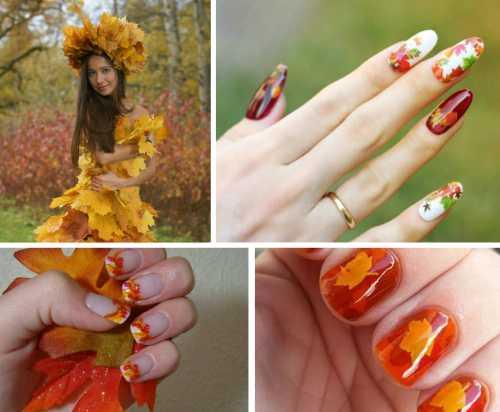 100 лучших идей модного дизайна ногтей осень